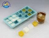 Dehuan começ rapidamente o gelo, moldes do gelo com pressão clara do dedo