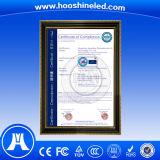 에너지 절약 옥외 단 하나 색깔 P10-1y DIP546 두루말기 발광 다이오드 표시