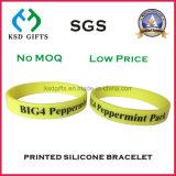 Dê bandas de silicone para fora Bandas personalizadas de pulso de silício