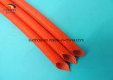 El envolver de la fibra de vidrio del silicón del alambre eléctrico