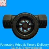Indicador de flujo de ruedas tianhe visual de la marca Paddle