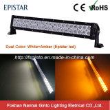 Heißer Verkaufs-bernsteinfarbiger/weißer Doppelder farben-LED heller Stab