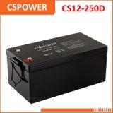 Bateria recarregável acidificada ao chumbo CS12-250d do UPS da bateria 12V250ah de capacidade elevada