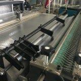 Nicht gesponnene prägende automatische Ausschnitt-Ultraschallmaschine mit dem Aufschlitzen der Messer (DC-HW)