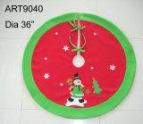 Pannello esterno dell'albero della Santa della decorazione di natale