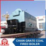 Caldaia a vapore infornata carbone di comando digitale
