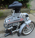 [س] 14 بوصة [48ف] كهربائيّة يطوي درّاجة