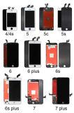 LCDスクリーンとiPhone 4/4s/5/5s/5c/6/6s/7/7のための携帯電話LCDの表示