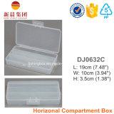 Коробка хранения 2 отсеков пластичная ясная