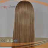 Grado superior ninguna peluca judía de las mujeres del pelo humano del estilo de la franja de la caída completa de la venda