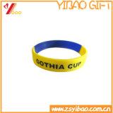 Bracelete colorido profissional por atacado /Wristband do silicone