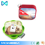Movimentação retrátil feita sob encomenda quadrada por atacado do flash da memória do USB
