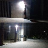 Luz del sensor de movimiento de 48 LED impermeable con la luz ligera solar de la pared del patio del jardín de la seguridad al aire libre sin hilos del marco de la aleación de aluminio