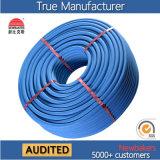 Bleu à haute pression ignifuge industriel des tuyaux d'air de PVC (KS-1929GYQG)