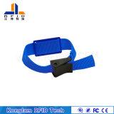 Bracelet tressé d'IDENTIFICATION RF à haute fréquence imperméable à l'eau pour les bibliothèques de refroidissement