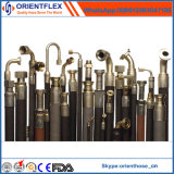 Tubo flessibile di gomma idraulico/tubo flessibile idraulico Braided filo di acciaio per estrazione mineraria ed il giacimento di petrolio