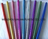 Película/hoja olográficas/del laser rígidas del PVC con los colores para las decoraciones de la Navidad