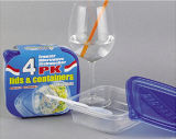 Envase de alimento - 20oz- BPA liberar - - favorable al medio ambiente - uso multiusos reutilizable para la cocina o el restaurante casera