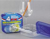 La plastica di Sqaure toglie il contenitore di alimento di Microwavable 20oz