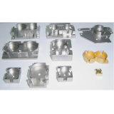 Peças de reposição de alumínio fazendo à máquina de anodização verdes do CNC da máquina de trituração das peças