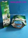 Kundenspezifischer Fastfood- Aluminiumplastiknahrungsmittelbeutel der seitlichen Dichtungs-vier