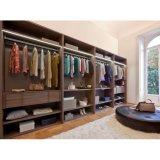 De moderne Modieuze Bruine Melamine schort Garderobe zonder Deur op