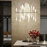 ホテルの居間のレストランのための現代簡単なパーソナリティー管ランプのシャンデリア