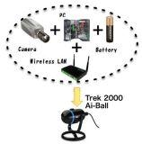 Cámaras de vigilancia sin hilos del telecontrol de la leva de WiFi de la cámara de Web de la nueva del viaje de la Ai-Bola de la seguridad cámara del IP mini