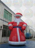 Decoração Papai Noel inflável do Natal, arrendamento do Natal do pai