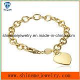 De heet-verkoopt Armband van de Ketting van het Roestvrij staal kan met Uw Embleem (BL2839) zijn