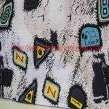 Покрашенная покрашенная тканью хлопко-бумажная ткань ткани печатание ткани жаккарда для юбки Children&rsquor пальто платья женщины; Одежда s