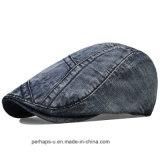 Qualitäts-Mann-Denim-Freizeit-Form-Hut-Barett-Schutzkappen
