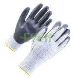 Перчатки покрынные нитрилом трудные защитные промышленные работая (D78-G5)