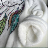 Caxemira coral Europa de Amazon do Sell 2017 rápido e comércio externo da camisola da impressão do cão de América