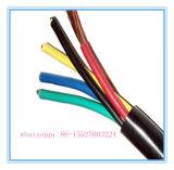 Cabo de controle puro da isolação do PVC do cobre para instrumentos