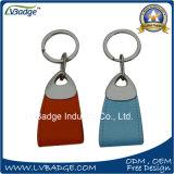 Цепь высокого качества дешевая кожаный ключевая с изготовленный на заказ логосом