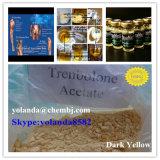 손실 Musle 뚱뚱한 이익을%s 분말 Trenbolone 어두운 노란 스테로이드 아세테이트 (Finaplix H/Revalor-H)