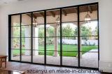 Venster van Doorand van het Glas van het Aluminium van het huis het Op zwaar werk berekende Glijdende