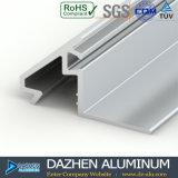 Puerta de aluminio de la ventana del grano del perfil para Suráfrica