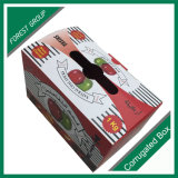 Doppel-wandiges Papiergeschenk-sendender Kasten-Frucht-verpackenkasten