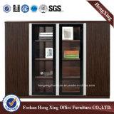 Kantoormeubilair van de Melamine van de Boekenkast van het Bureau van de Deuren van het Glas van het aluminium het Moderne (Hx-4FL003)