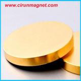 N52 D15*2mm 황금 강한 영원한 디스크 네오디뮴 자석