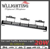 """"""" barra chiara del supporto LED della parte superiore del camion del Consigliere di traffico 22.5"""