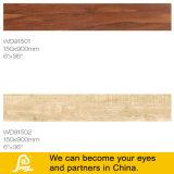 나무로 되는 형 지면과 벽 150X900mm를 위한 시골풍 사기그릇 도와