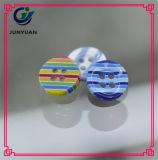 Acessórios de forma coloridos da tecla da resina da criança dos doces 4holes