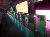 MERGULHO P10 da cor cheia que anuncia o indicador do perímetro do estádio de futebol do diodo emissor de luz
