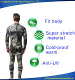 Camuflar Mimetic de Palantic Spearfishing do neopreno para trás fecha o Swimwear do Jumpsuit