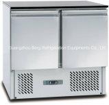 Réfrigérateur solide de Tableau de préparation de sandwich à salade de porte d'acier inoxydable