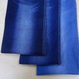 Tessuto dei jeans blu scuro sulla vendita (T146)