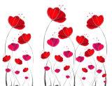 安い価格の販売流行のデザイン美しい花模様デザイン油絵